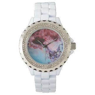 Serie azul del asesinato relojes de mano