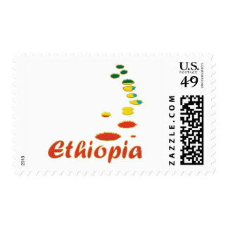 Serie azul del Nilo Timbres Postales
