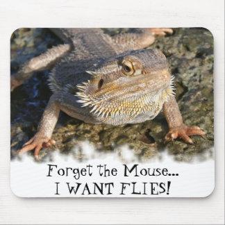 Serie barbuda del dragón alfombrilla de ratón