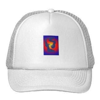 Serie Blue Wall Mesh Hat