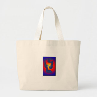 Serie Blue Wall Large Tote Bag