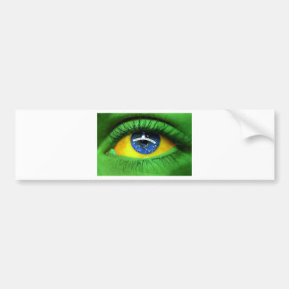 Serie Brasil Car Bumper Sticker
