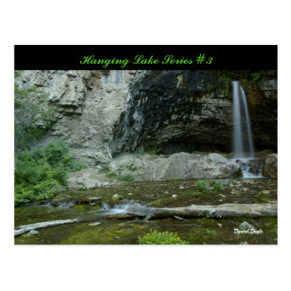 Serie colgante #3 del lago postales