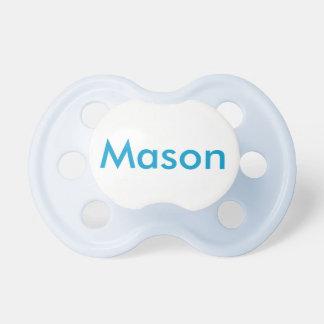 Serie conocida personalizada chupetes de bebé