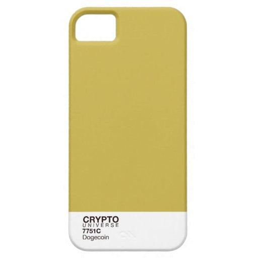 Serie CRYPTO del universo: Dogecoin iPhone 5 Case-Mate Protectores