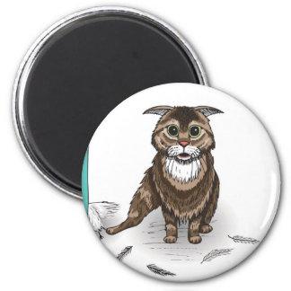 serie dañosa del gato de Ben Jones Imán Redondo 5 Cm