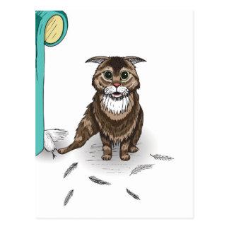 serie dañosa del gato de Ben Jones Tarjetas Postales