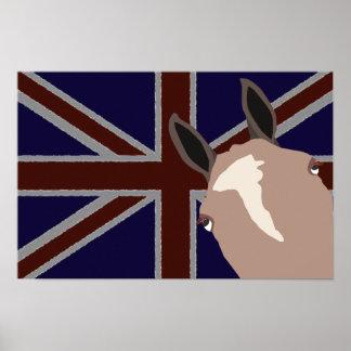 Serie de Britannia: Lilo el potro de polo Posters