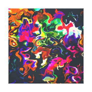 serie de fusión de la cera impresión en lienzo