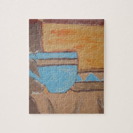 Serie de la cocina que pinta 1 puzzles