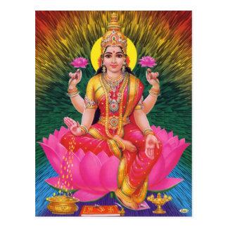 Serie de la deidad hindú tarjeta postal