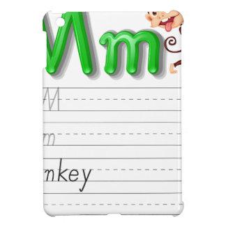 Serie de la escritura del alfabeto