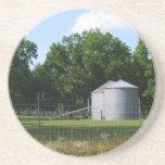 Serie de la granja---Silos en el GA Posavasos Cerveza