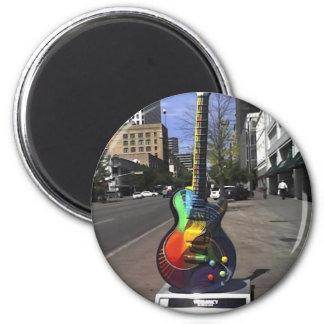 Serie de la guitarra iman de nevera