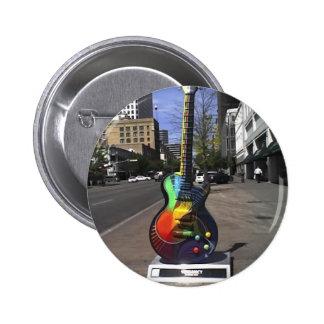 Serie de la guitarra pin redondo 5 cm