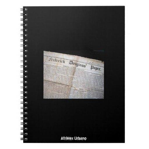 Serie de la herencia de AfriMex Urbano 1 cuaderno