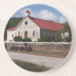 Serie de la iglesia---Práctico de costa del anglic Posavasos Diseño