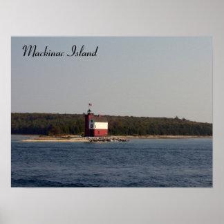 Serie de la isla de Mackinac Póster