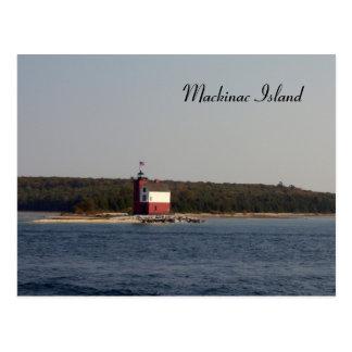 Serie de la isla de Mackinac Postal