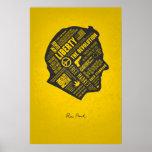 SERIE de la LIBERTAD - pensamiento abstracto de Ro Poster