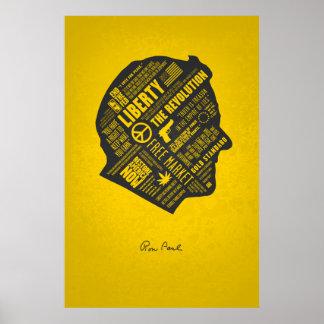 SERIE de la LIBERTAD - pensamiento abstracto de Ro Póster
