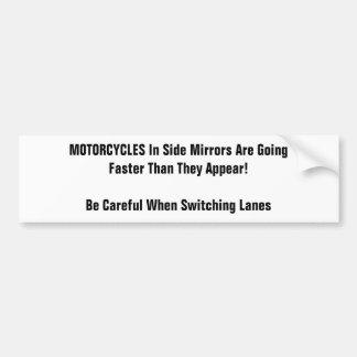 Serie de la motocicleta pegatina para auto