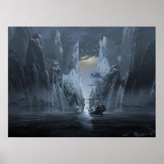 Serie de la nave del fantasma: Expedición perdida Póster