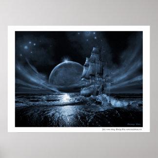 Serie de la nave del fantasma Levantamiento de la Posters