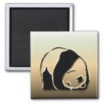 Serie de la panda imanes