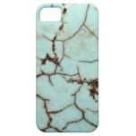 Serie de la piedra preciosa - turquesa agrietada iPhone 5 Case-Mate fundas