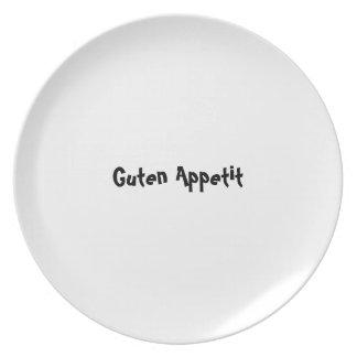 Serie de la placa del appetit del Bon - alemán - G Plato Para Fiesta