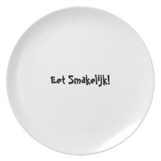 Serie de la placa del appetit del Bon - holandeses Platos De Comidas