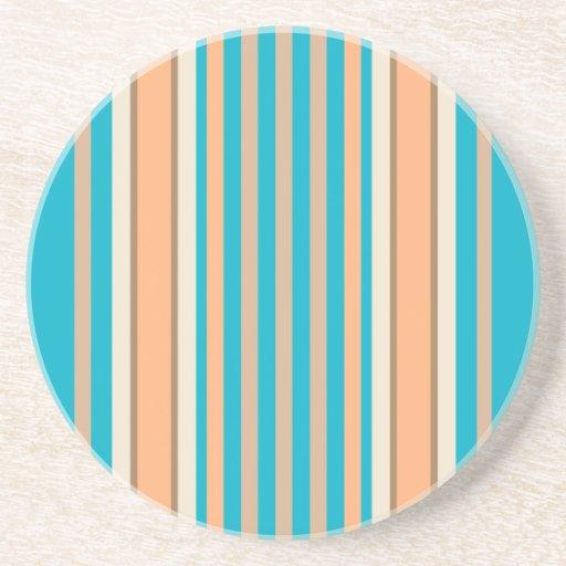 Serie de la raya---Práctico de costa del azul y de Posavasos Diseño