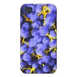 Serie de las uvas 1 caso de IPhone 4 iPhone 4/4S Fundas