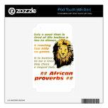 Serie de los proverbios del león iPod touch 4G skins
