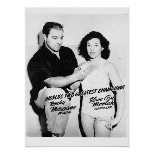Serie de lucha del poster del vintage póster