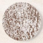 Serie de mármol---Práctico de costa 1 de Brown de  Posavasos Manualidades