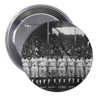 Serie de mundo coloreada del equipo de béisbol del pin redondo de 3 pulgadas