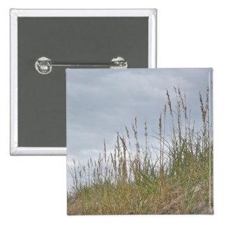 Serie de Outer Banks NC de la avena del mar Pin Cuadrado