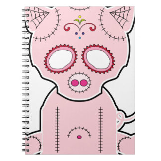 Serie de Piggie del azúcar Cuaderno