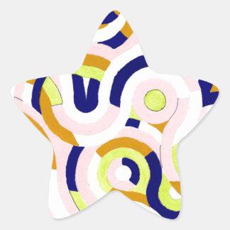 Serie de Seigaiha - Congeniality Colcomanias Forma De Estrellaes Personalizadas