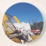 Serie del algodón--1 de 9---Carga de un constructo Posavasos Personalizados