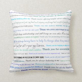 Serie del aprecio - gracias papá por… almohada