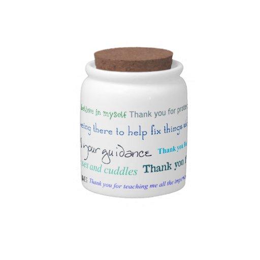 Serie del aprecio - gracias papá por… jarra para caramelo