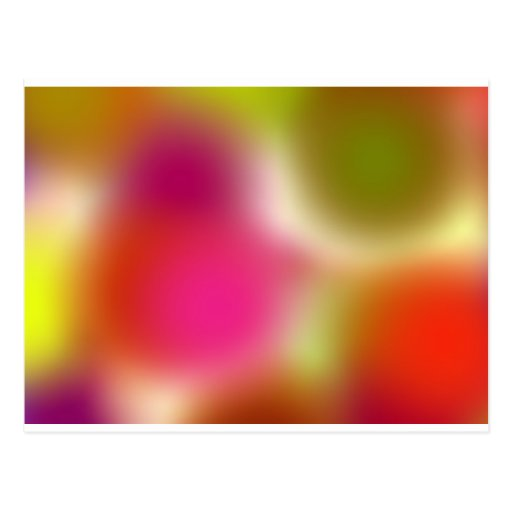 serie del arco iris postales