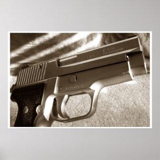 Serie del arma póster