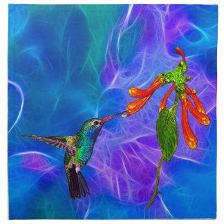 Serie del arte de los Pájaro-amantes salvajes del  Servilletas