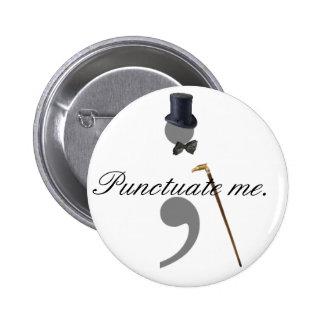 Serie del botón de la puntuación pin