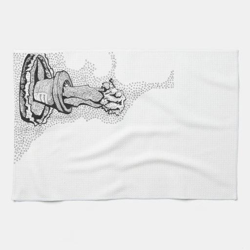 Serie del cactus toallas de mano
