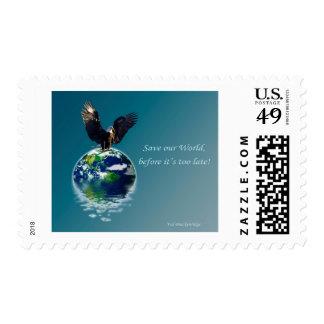 Serie del Día de la Tierra de Eagle Franqueo